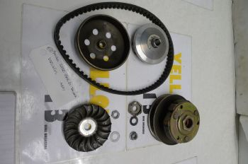 APRILIA SR50 GP1 DI-TECH    VARIATOR ASSEMBLY, BELT, PULLEYS ETC    #2 (CON-A)